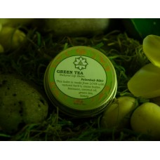 Green Tea Lip Balm in jar 15 gr