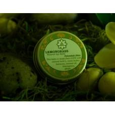 Lemongrass Lip Balm in jar 15gr