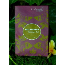 Bali Flower's Massage Salt Scrub 500 gr