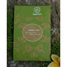 Green Tea Body Scrub 100 gr